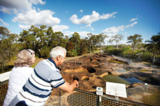 Mystery Craters near Bundaberg