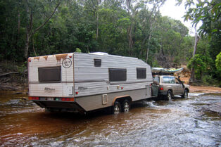 Offroad caravans can get you off the beaten track