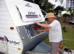 Caravan parks at Christmas