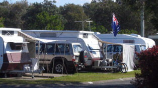Grey nomads asked to come back to mining areas, Gladstone