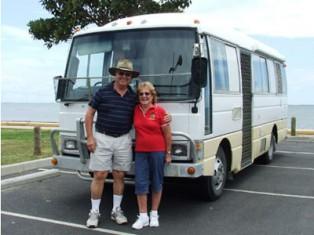 Grey nomads and campervan trael