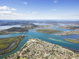 Central Coast fro Australi's grey nomads and caravans
