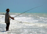 Eighty Mile Beach is a fisherman's paradise
