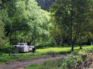 Free camping is an important part of the experience for many grey nomads
