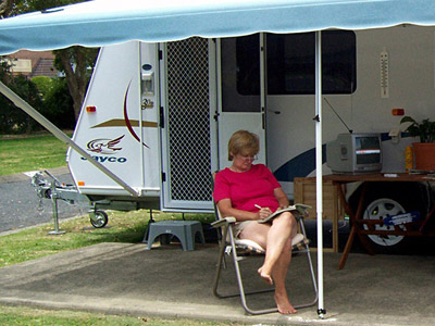 Solo women grey nomads hit road in caravans and motorhomes