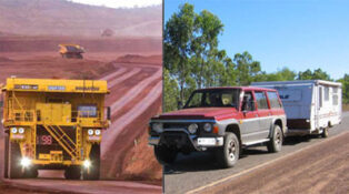 Grey nomads in Western Australia as mining boom ends