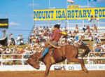 Grey nomads head to the Mount Isa rodeo