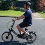 Cycling up Heartbreak Hill was a breeze!