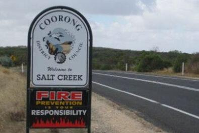 Rape happns in Salt Creek, Coorong