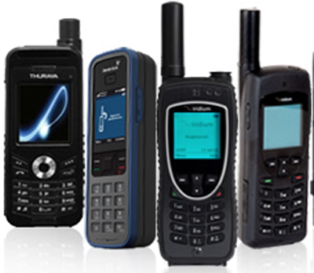 Satellite phone networks