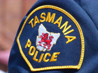 No one was injured in a caravan rollover in Tasmania
