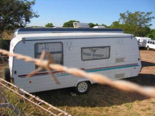 caravan park theft