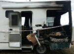 Campervan explodes as grey nomad injured