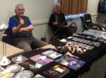 Grey nomads at White Cliffs Gem Fest & Car Boot Sale