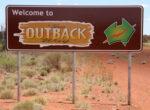 Grey nomads outback way