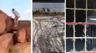 national park vandalism