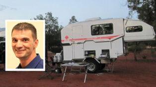 Grey nomads camping in Port Hedland