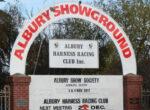 Albury showgrounds grey nomads