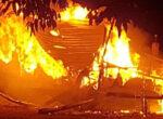 caravan park fire