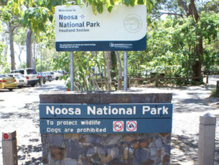national park car park