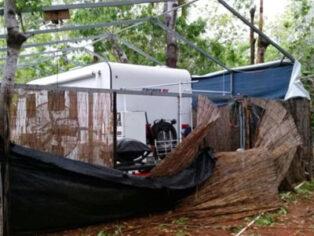 Cable Beach Caravan Park after Cyclone Hilda