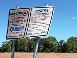 Free camping at Kershaw Gardens