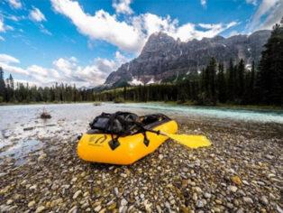 Pack raft for grey nomads