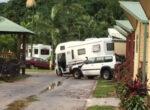 Cairns caravan park floods