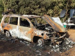 Fire devastates grey nomads