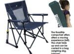 Rocking campchair for grey nomads