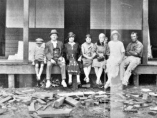Walpole caravan park history