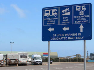 free parking in Geraldton