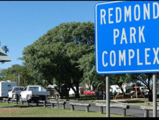 Grey nomads stay at Goondiwindi