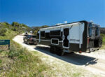 Zone RV carbon fibre caravan