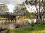 Swing bridge at Sale, Victoria