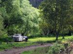 Grey nomads free camping in Tassie