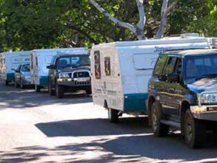 Darwin caravan park