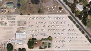 caravan storage yard for grey nomads