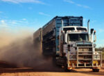 Road train driver allegedly high on ice