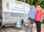 Caravan park theft leaves grey nomads shocked