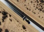 Bitumen reaches Marree