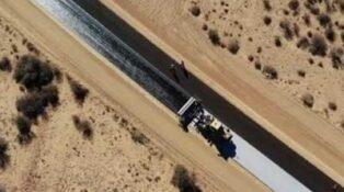 Bitumen reaches Marree
