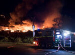 Grey nomads worry over blaze at Hobart caravan storage facility