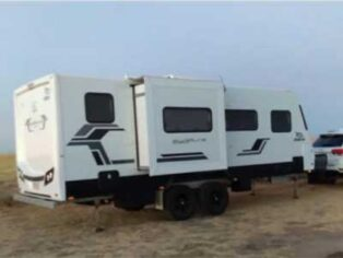 Grey nomad caravan stolen from storage yard