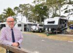 Torquay Caravan park for grey nomads