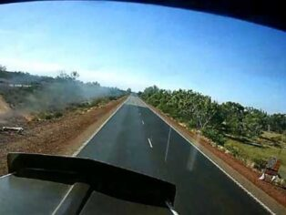 Outback road signs safety warning