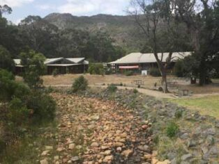 Grey nomads find it hot to camp in the Grampians