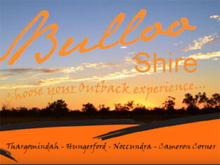 Bulloo shire for grey nomads