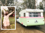 Grey nomad back on the road in vintage vans