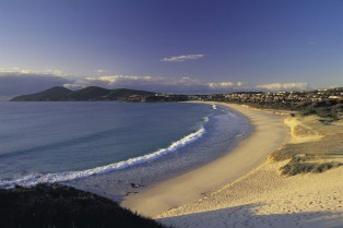 One Mile beach, Forster, Great Lakes